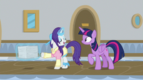 "Rarity ""Flam insists that everything extra"" S8E16"