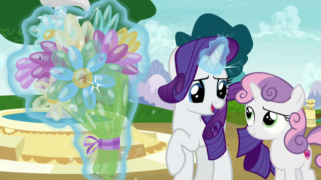 """File:Rarity """"I know just what to do with this!"""" S7E6.png"""