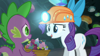 Rarity --Thanks for being my basket holder-- S6E5