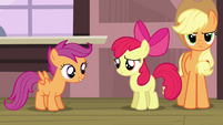 Scootaloo 'You really think she'll wanna join' S3E4