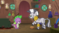 "Spike quietly ""it's all so embarrassing"" S8E11"