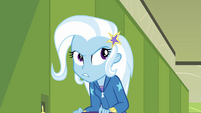 Trixie considering Sunset Shimmer's words EGFF