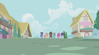 Twilight and friends return to town with Zecora S1E09