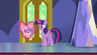 Twilight setting Flurry down by the closet S7E3