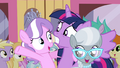 Twilight with Diamond Tiara and Silver Spoon S4E15.png