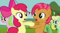 Apple Bloom and Babs 'It felt like forever!' S3E08