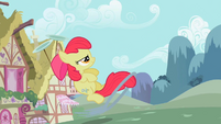 Apple Bloom launching the ring S02E06