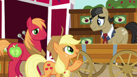 Applejack --that's the last of it, Filthy Rich-- S6E23