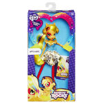 Applejack Equestria Girls Rainbow Rocks doll packaging