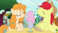 Bright Mac and Pear Butter sharing a milkshake S7E13.png