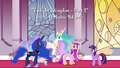 "Celestia ""is aware that a fourth Alicorn princess exists"" S4E26.png"