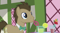 Dr. Hooves drinking S5E9