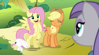 Fluttershy 'Or a trained butterfly' S4E18