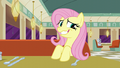 Fluttershy grinning awkwardly S6E9.png
