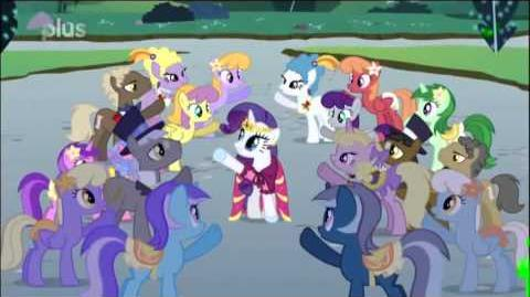 MLP FiM - At the gala (Slovak)