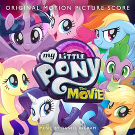 MLP The Movie Original Motion Picture Score cover