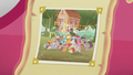 Photo of ponies in front of CMC clubhouse S5E18.png