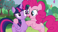 Pinkie --It is totally gonna freak your...-- S5E24