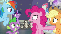 Pinkie Pie -she called them 'rodents'-!- S8E4