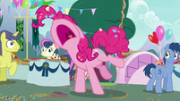 "Pinkie Pie yelling ""I can't take it!"" S7E23"