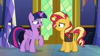 """Princess Twilight """"might be able to help"""" EGFF"""