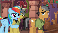 Rainbow --let Daring Do figure it out-- S6E13