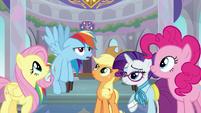 "Rainbow Dash ""call me Professor Egghead"" S8E1"