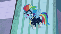 "Rainbow Dash ""just watch us!"" S4E06"