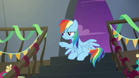 Rainbow Dash --I told you, it's nothing!-- S6E7