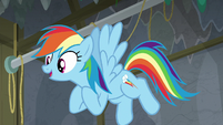 Rainbow Dash -starring in our play-- S8E7