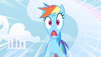 Rainbow Dash freaks out S1E16