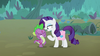Rarity -I was just at Zecora's- S8E11