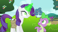 Rarity -let's do something about that- S4E23