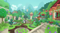 Rarity and Old Gardener in the restored garden S7E25