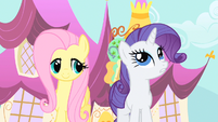 Rarity completely frazzled S1E20