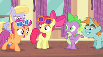 Scootaloo -Even Rainbow Dash-- S4E19