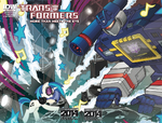 Transformers issue 30 cover RE Convention 2014 edition
