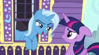 Trixie smug --great idea, Princess Twilight-- S6E25