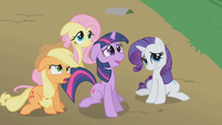 "Twilight, Applejack, Fluttershy, and Rarity ""Infestation?"" S1E10"