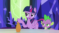 "Twilight ""the only reason you won't drink the potion"" S5E22"