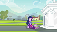 """Twilight and Spike """"works for me"""" EG"""