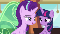 Twilight and Starlight unconvinced S6E16
