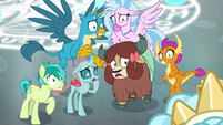Young Six frightened of Cozy Glow S8E26