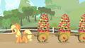 Applejack hauling apples S01E25.png