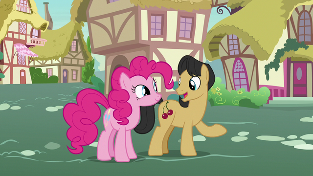 """File:Cherry Fizzy """"the most honest pony there is?"""" S7E9.png"""