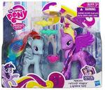 Crystal Princess Celebration Twilight Sparkle and Rainbow Dash