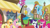Discord --we've been pretty exhaustive-- S5E22