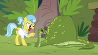 "Dr. Fauna scolds Antoine ""bad snake!"" S9E18"