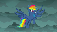 Fantasy version of Rainbow Dash S7E23