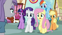 "Fluttershy ""have you seen Pinkie Pie?"" S8E18"